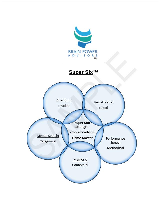 Super Six Report Cover
